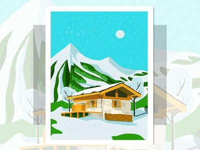 Poster for Chalet in France Chez Milgonnet