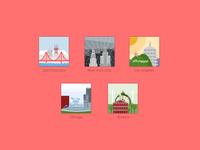 Major Cities