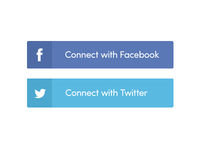 More social buttons