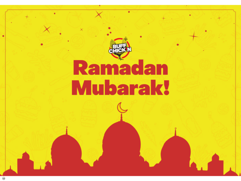 Ramadan Mubarak brand design social media design illustration branding brand identity fastfood chicken burger menu burger social media ramadan mubarak ramadan kareem ramazan ramadan