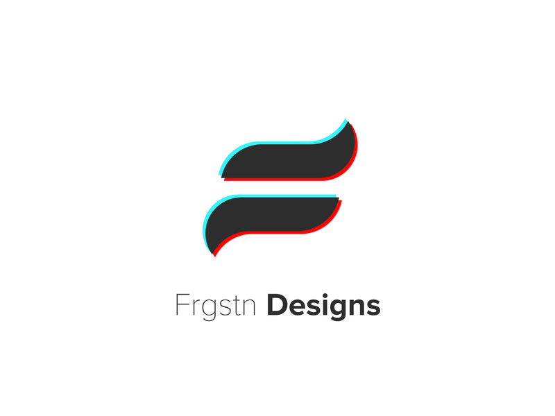 Frgstn 2020 - Brand Design wip smallbusiness minimal minimal design personal logo personal branding personal brand glitchart glich rebranding graphic designer graphic design logodesign rebrand logo icon design icon dribbble design branding