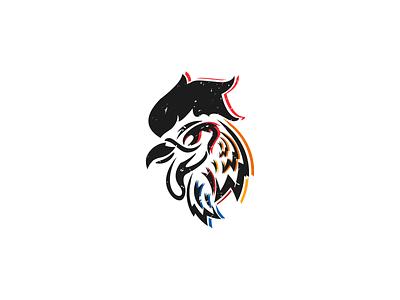 Macabre University Debate Club - Logo Design texture rainbow rooster illustrator illustraion rooster logo vector graphic designer graphic design logodesign logo icon design icon dribbble design branding