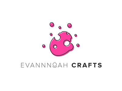 Evan Noah Crafts - Brand Design logo designer minimal design type mark text mark logo design logo mark vector logo logodesign graphic designer graphic design dribbble design branding icon design icon