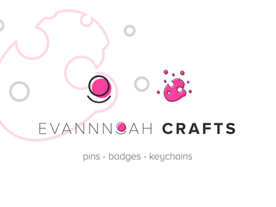 Evannoah Crafts - Brand Design logo mark wordmark multipurpose startup small business brand design logo design minimal vector logo logodesign graphic designer graphic design dribbble design branding icon design icon