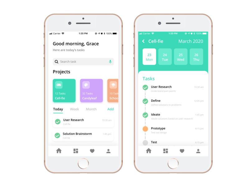 Daily UI Challenge: Task List ✅ daily ui 042 uiux uxdesign visual design iphone mobile app design app daily ui challenge daily ui