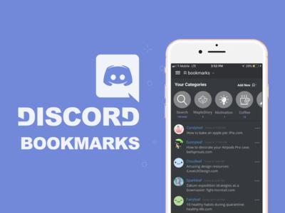 Discord Bookmark Design Case Study