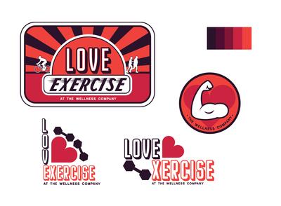 Wellness Club Mockup Branding