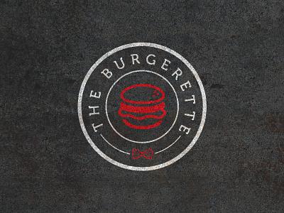 The Burgerette v2 burger blog logo burgerette