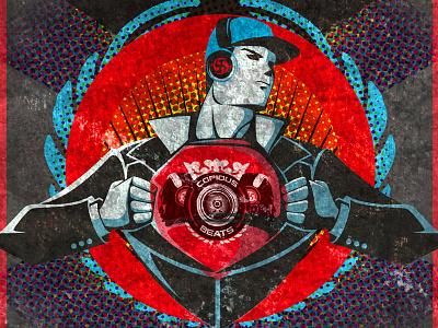Copious Beats - Bassment copious beats illustration artwork bassment music dnb jungle