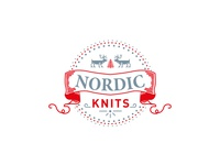 Nordic Knits - Team Badge