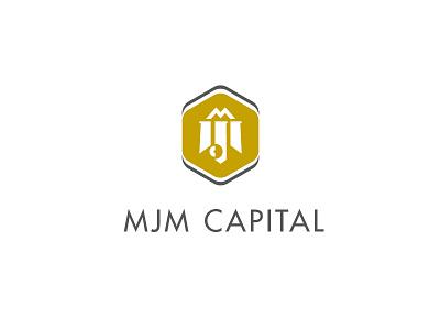 MJM Capital logo capital monogram icon identity
