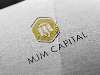 MJM Capital logo print logo capital monogram icon identity