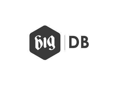 Big Digital Boutique big digital boutique big logo identity ambigram