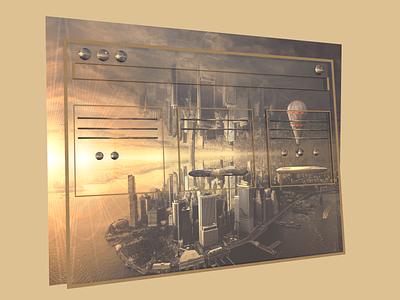 Transparant tablet screen screen tablet transparant c4d design cinema4d 3ddesign 3d