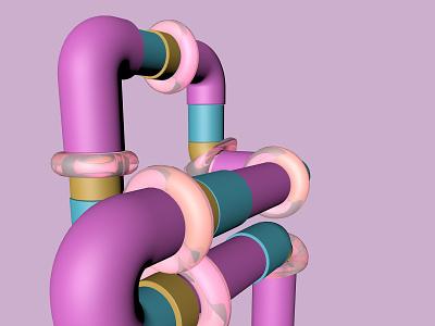 Pipes maxonc4d pipes c4d maxon cinema4d 3d art 3d artist design 3dart 3ddesign 3d