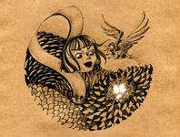 Алиса и птица