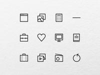 Acute icons