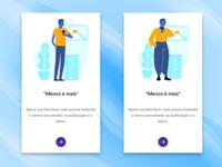 Onboarding illustration app test