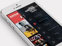 Swing Music App Concept