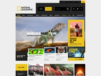 National Geographic Web Site Concept