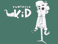 Tentacle kid sketch WIP