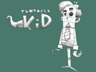 Tentacle kid sketch wip 3.