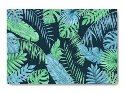 Summer tropical leaves decorative background wedding watercolor tropical template summer monstera holiday poster leaves leaf invitation illustration frame palm floral exotic wallpaper card plant background