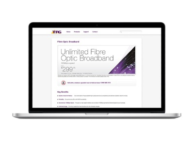 TPG Web Banner retail design retail design web banner digital design graphic design
