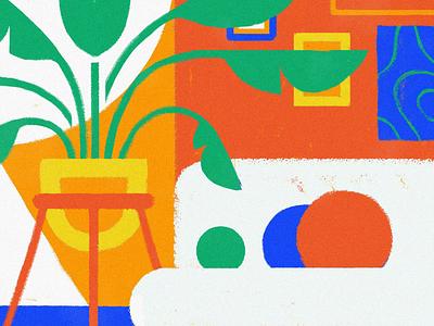 Leaf Taste video digital illustration adobe animate mograph set plant cat motion design motion graphics motion living room animation framebyframe cel animation traditional animation loop draw design illustration digital art