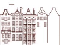 Amsterdam buildings on Water