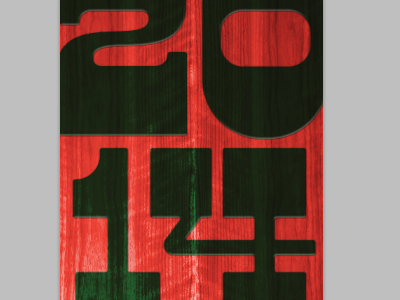mystery project holiday xmas wood type 2014 slab it dude