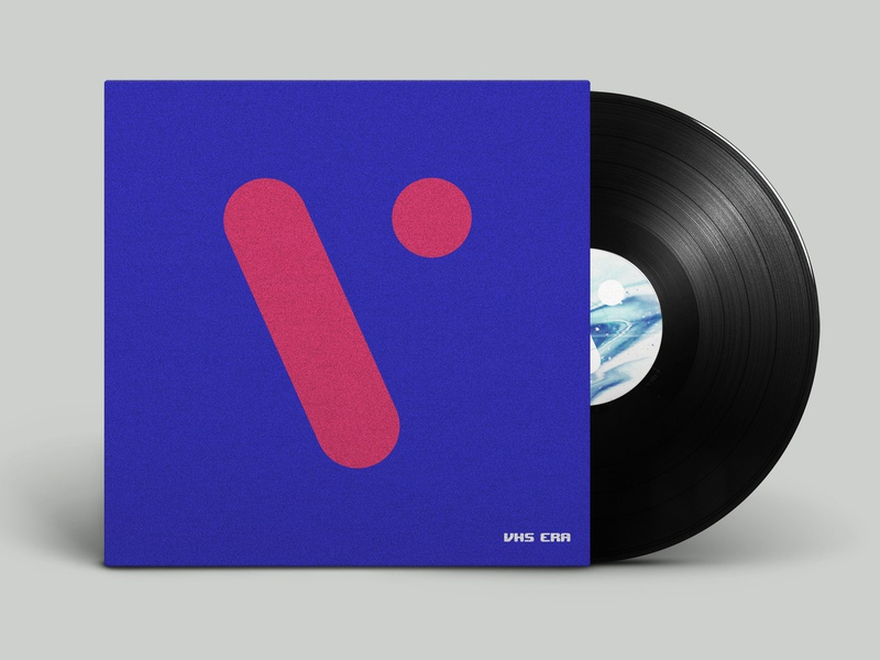VHS ERA album cover 2 minimal album art album cover muisc