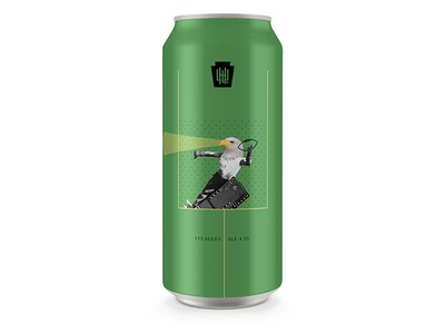 day #42 Steagle Ale pint can packaging history nfl eagles steelers steagle collage pennsylvania bethlehem beer
