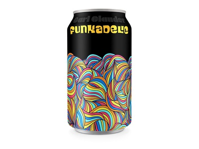 day #138 Funkadelic craft beer george clinton p-funk funk packaging can beer