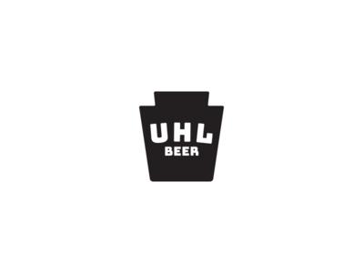 Uhl mark v2 keystone identity branding logo brewing beer