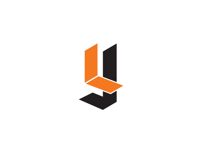 logo experiment monogram blackletter distance yards yardage book yardage golf logo