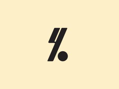 unchosen mark logotype yo monogram logo