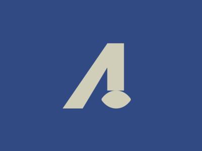 Alumni football logo bold minimal alumni football sports