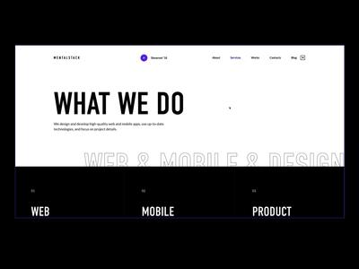 Mentalstack Website Transitions