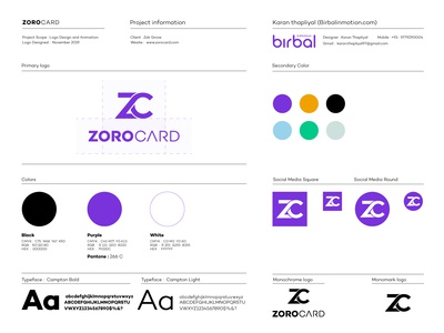 zorocard  Logo usages guide