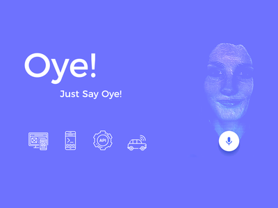 Oye.ai artificial intelligence ai voice assistant