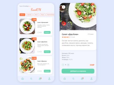 FoodON delivery app