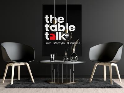 The Table Talk Logo illustrator visual identity photoshop brand identity brand design brand