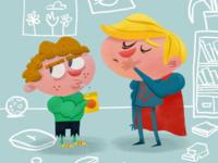 Kindergarden Superheroes
