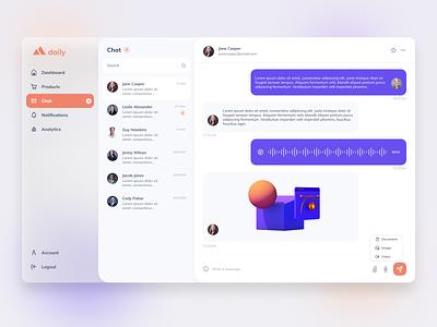 Direct Messaging Webapp | Daily UI 013 webapps chat concept chat app chat app design ui design ux webapp design webapplication webapp ui minimal dailyui dailyuichallenge