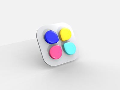 Daily UI #005 - App Icon vectary 3d appicon 005 dailyui005 dailyui