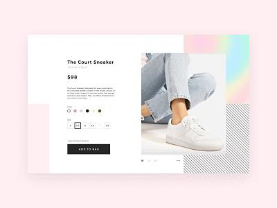 Daily UI #012 | E-Commerce Shop design holographic webdesig web shoes store shoes item page ecommerce 012 dailyui012 dailyui