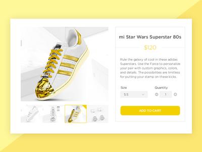 Daily UI 012 : E-Commerce Shop