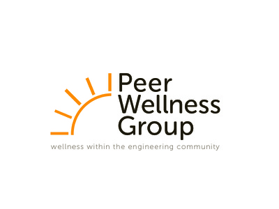 Peer Wellness Card print logo marketing