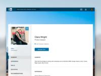 LinkedIn UI Redesign